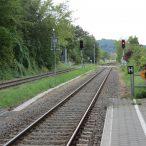 206,800 Bf Ahlbeck-Gleis Richtung Heringsdorf