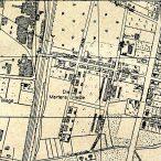 Nienburg, Carlotastraße - Stadtplan 1949