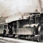 Dampfzug in Riva - Fotografie im Bahnhof Riva 640